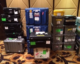 Airfreight import and export for broadcast equipment to USA for President Obama visit