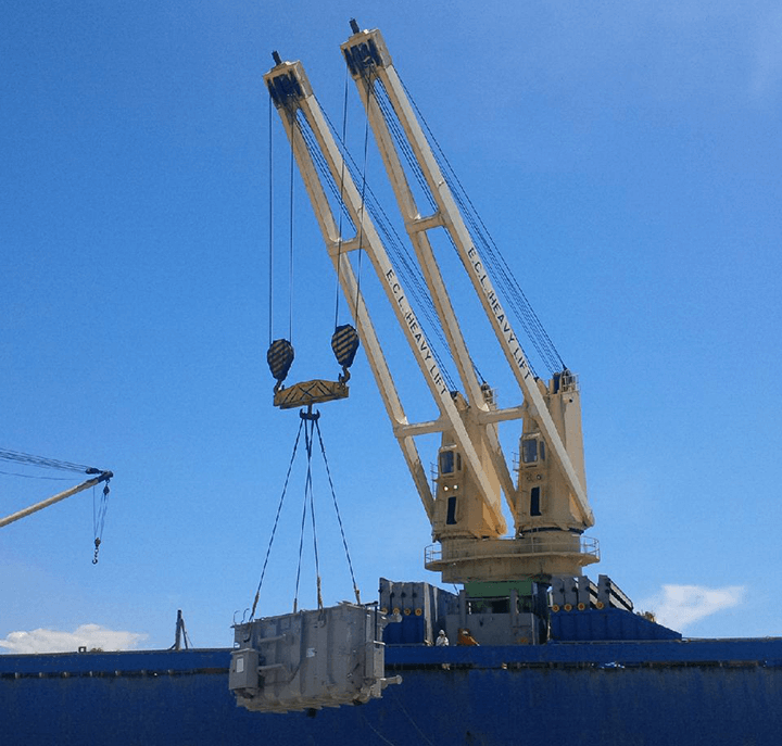 500 tons of transformers and accessories from Thailand to Sandakan, Malaysia by breakbulk vessel