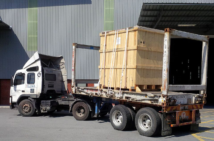 Valve for oil & gas client from Italy to Port Klang, Malaysia