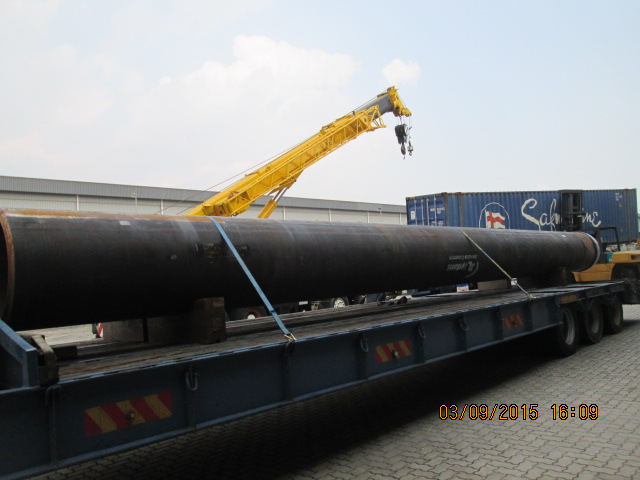 Steel Pipe from USA to Pelabuhan Tanjung Pelepas