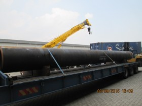 Steel Pipe from USA to Pelabuhan Tanjung Pelepas