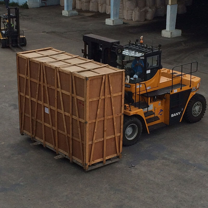 Transformer from Thailand to Bintulu for delivery to Sibu