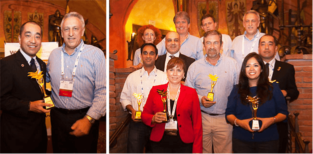 Awarded as World Best Partner in 2014 by WCA Projects
